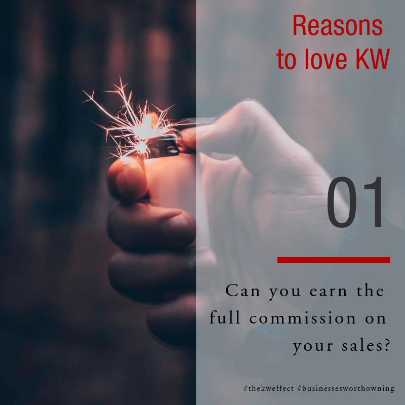 Image of Reasons to love KW Eden - Cap your commission split with us at R145k per year. The rest is yours that year!