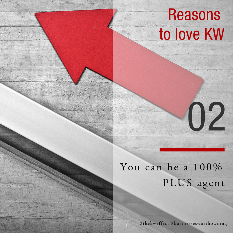 Image of Reasons to love KW Eden - Earn a 100% PLUS commission with our Disappearing Cap Program