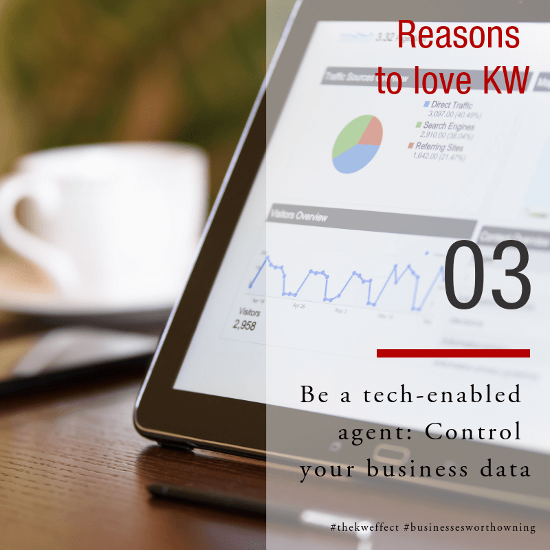 Image of Reasons to love KW Eden 3 - Control your data as estate agent