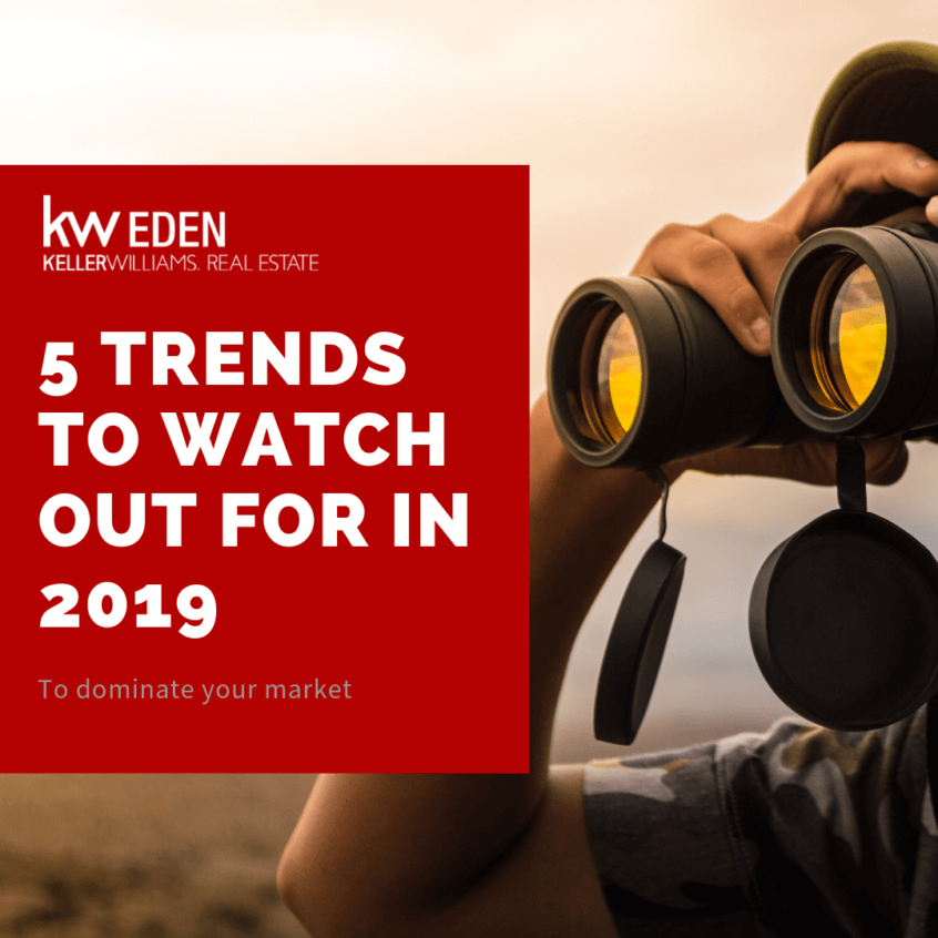Image of KW Eden Garden Route (George, Mossel Bay, Knysna, Plettenberg Bay, Hartenbos)5 Trends to watch out for in 2019